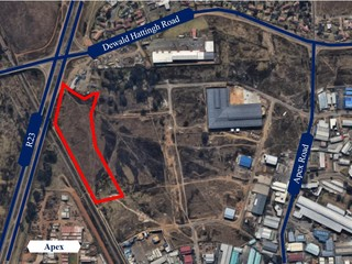 Land for sale with highway exposure in Benoni