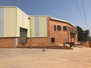 Warehouse facility available for occupation