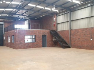 Warehouse units available in secure park