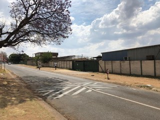 Industrial yard for sale